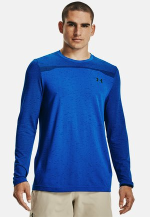 Long sleeved top - blue circuit