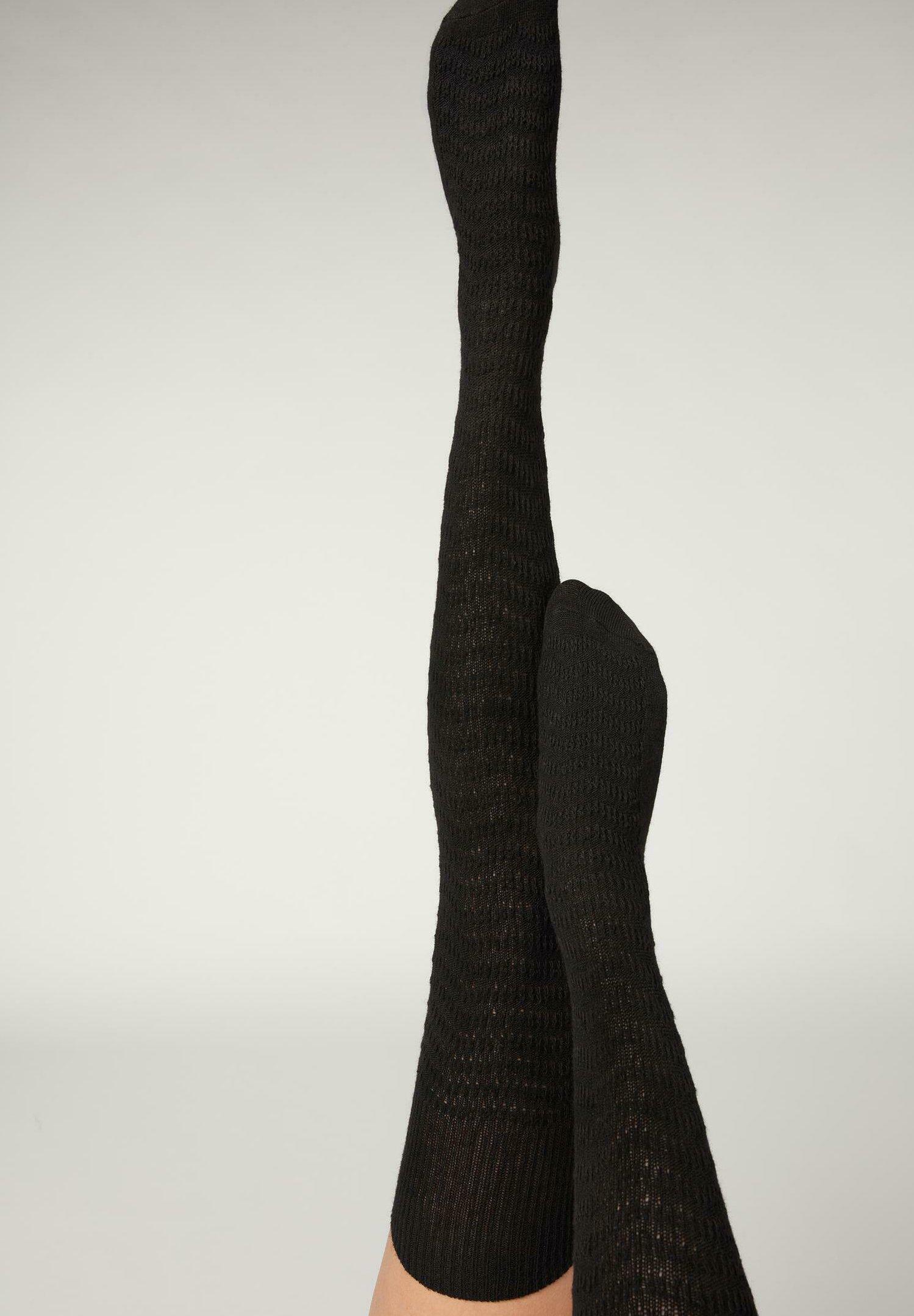 Damen Overkneestrümpfe