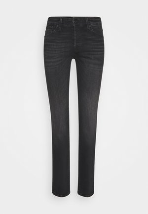JJIGLENN JJICON  - Vaqueros slim fit - black denim