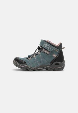 Sneakers hoog - acquamarina/nero/grigio