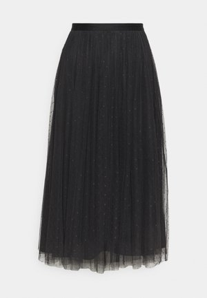 KISSES MIDAXI SKIRT - A-Linien-Rock - graphite