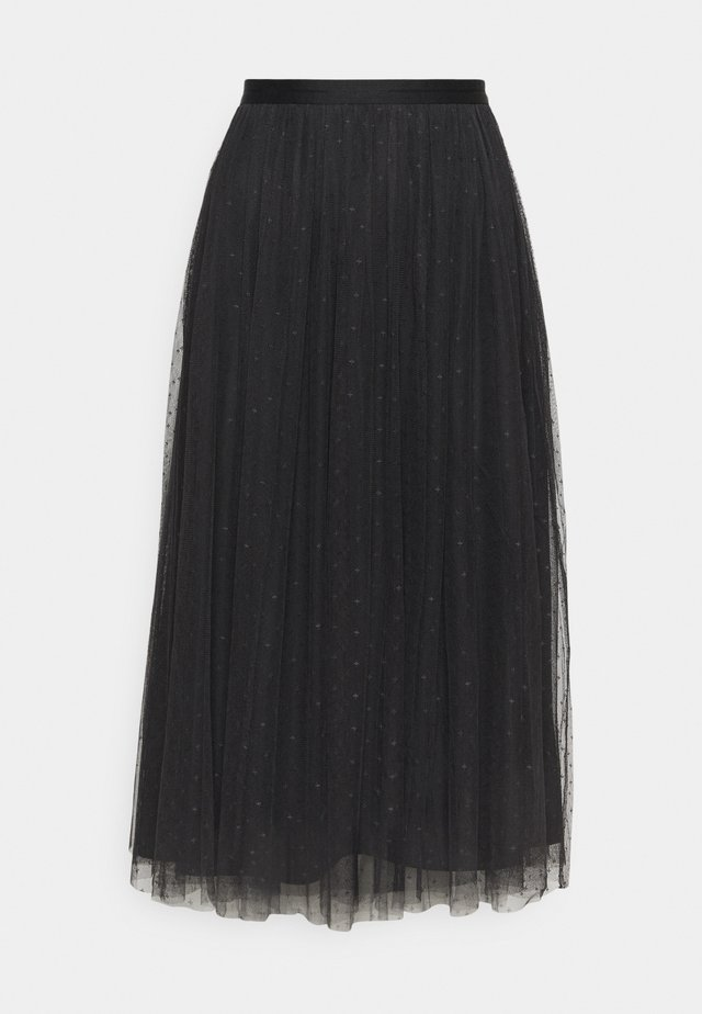 KISSES MIDAXI SKIRT - Gonna a campana - graphite