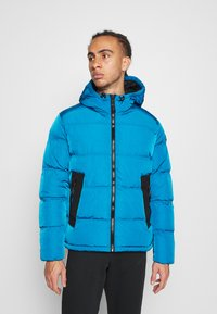 Champion - ROCHESTER OUTDOOR HOODED JACKET - Giacca invernale - dark blue - 0