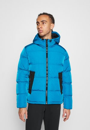 ROCHESTER OUTDOOR HOODED JACKET - Kurtka zimowa - dark blue