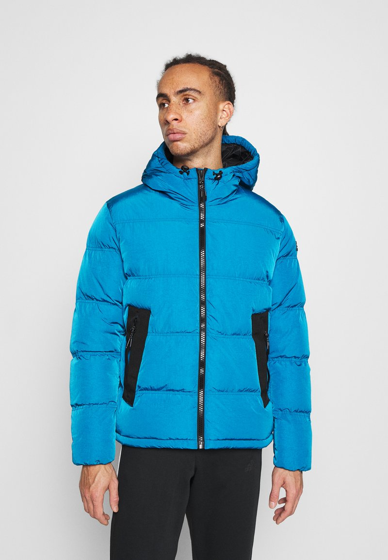 Champion - ROCHESTER OUTDOOR HOODED JACKET - Giacca invernale - dark blue