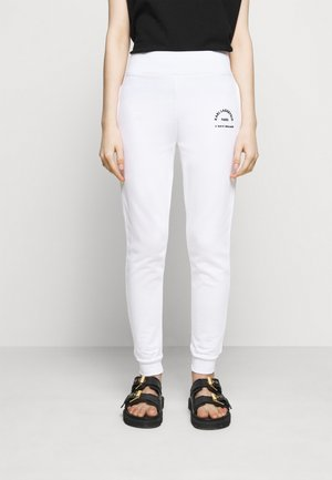 ADDRESS LOGO - Pantalon de survêtement - white