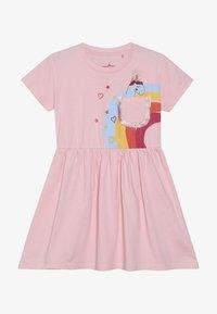 Lemon Beret - SMALL GIRLS DRESS - Sukienka z dżerseju - orchid pink - 2