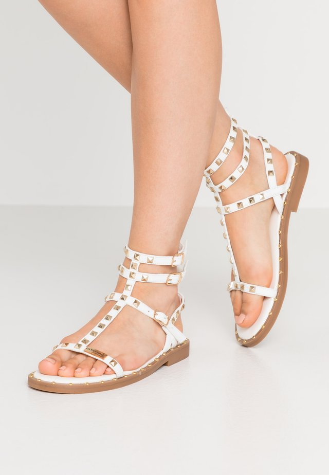 CASSIE - Sandals - blanc