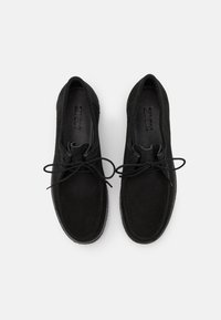 Zign - LEATHER - Casual lace-ups - black - 3