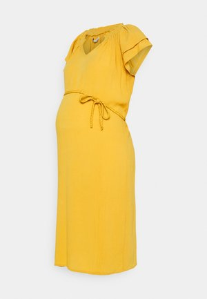 DRESS SIRMIONE - Korte jurk - honey gold