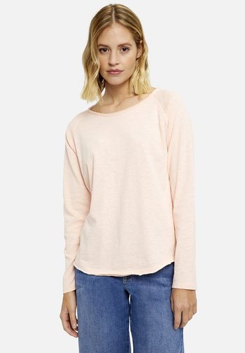 Long sleeved top - light apricot