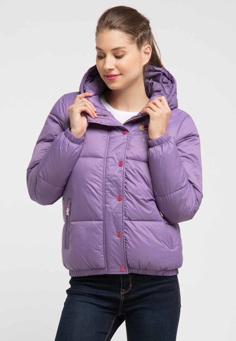 myMo - Winter jacket - lila