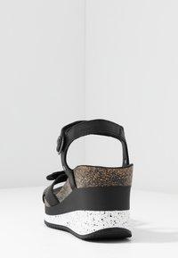 Panama Jack - NICA SPORT - Platform sandals - schwarz - 5