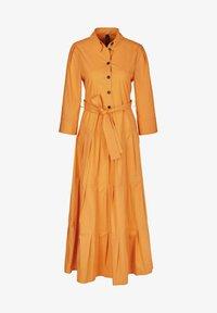 Marc Cain - Shirt dress - gelb - 3
