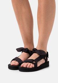 Loeffler Randall - MAISIE - Platform sandals - black - 0