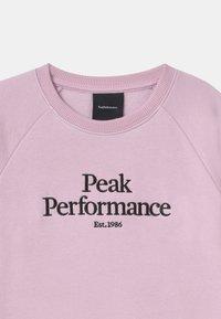 Peak Performance - ORIGINAL CREW UNISEX - Mikina - cold blush - 2