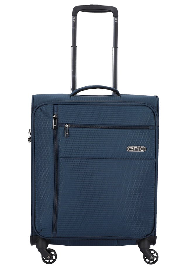Wheeled suitcase - navy
