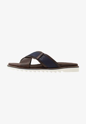 LIMON - Sandaler - dark brown/dark blue