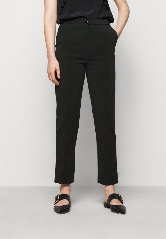 TROUSERS - Spodnie materiałowe - nero