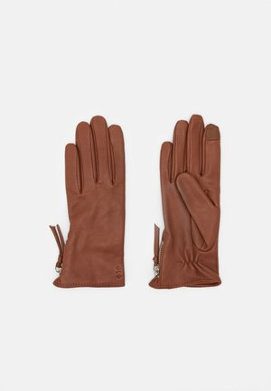 GROUND GLOVES TOUCH - Hansker - cognac