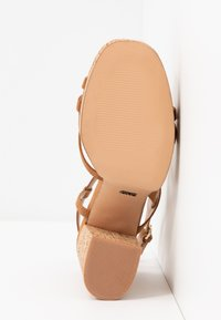 ONLY SHOES - ONLAERIN  - High heeled sandals - cognac - 6