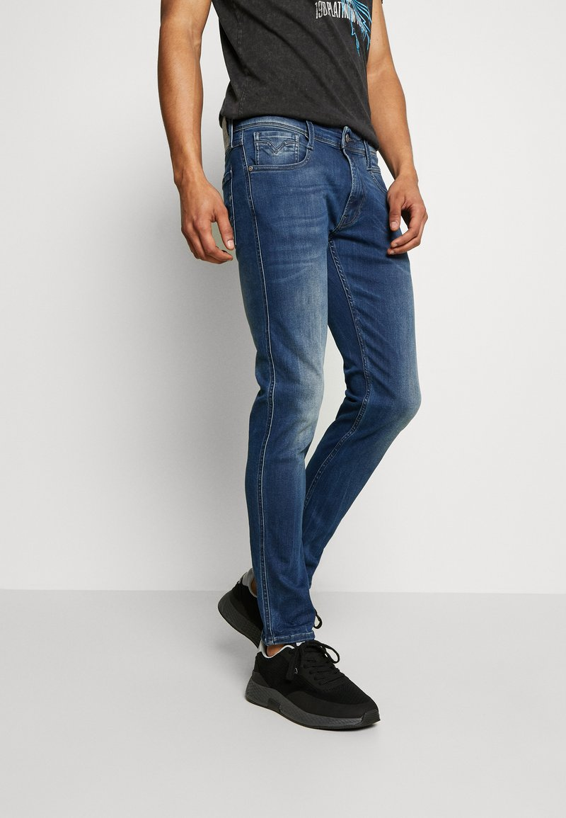 Replay - ANBASS - Jeans straight leg - blue