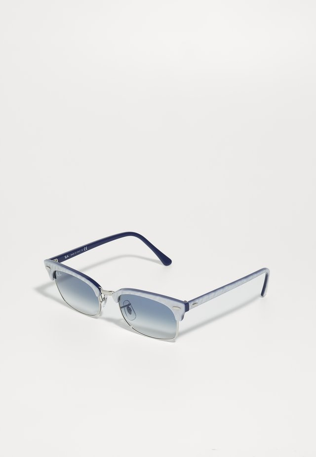 CLUBMASTER SQUARE - Zonnebril - top light grey/on blu
