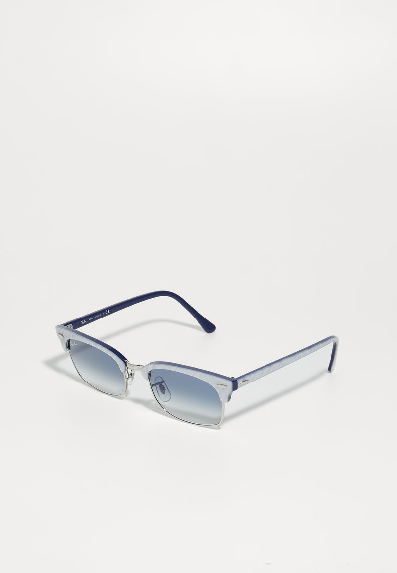 Ray-Ban - CLUBMASTER SQUARE - Sunglasses - top light grey/on blu