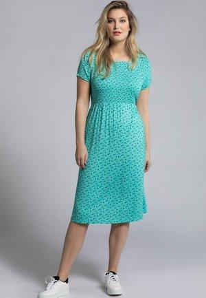 Day dress - tiefes aqua