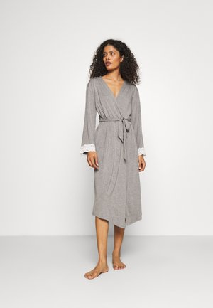 SOFA LOVES LONGLINE SOFT GOWN - Badjas - dove grey/ivory