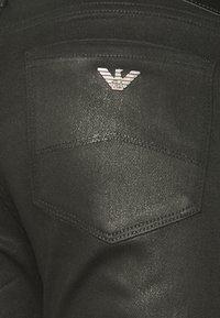 Emporio Armani - POCKETS PANT - Jeans Skinny Fit - denim nero - 2