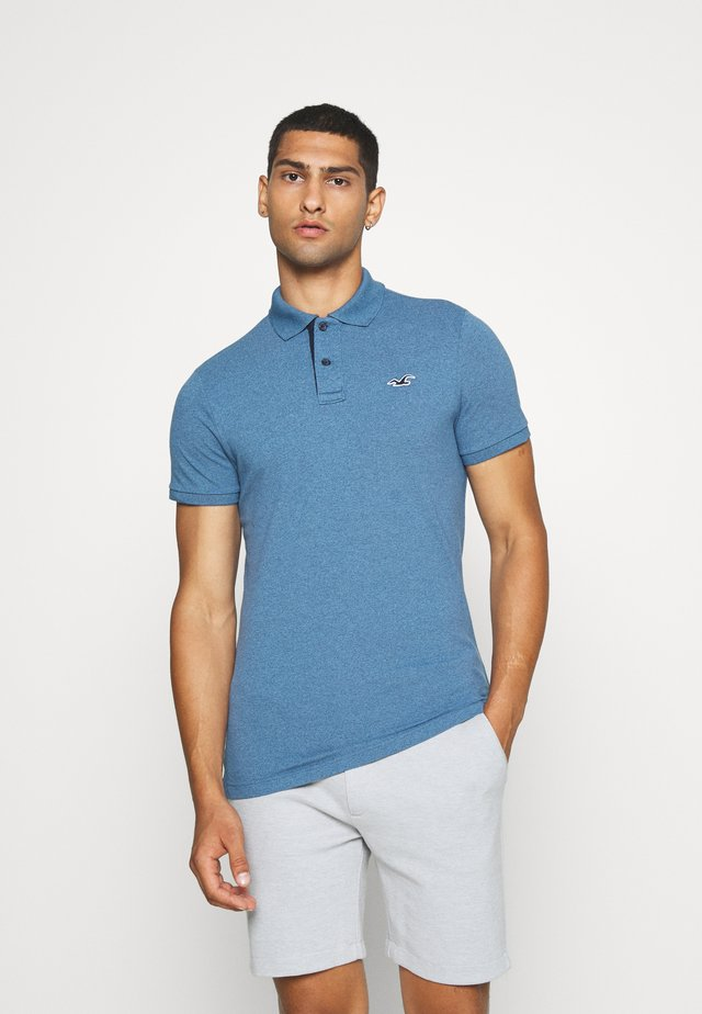 HERITAGE - Koszulka polo - dark blue