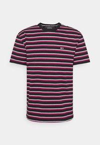 TWO TONE STRIPE CLASSIC TEE - Print T-shirt - pink