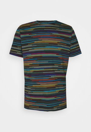 MENS CHAMP STRIPE - T-shirt z nadrukiem - multi