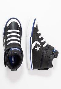 Converse - PRO BLAZE STRAP VARSITY - Zapatillas altas - black/rush blue/white - 0