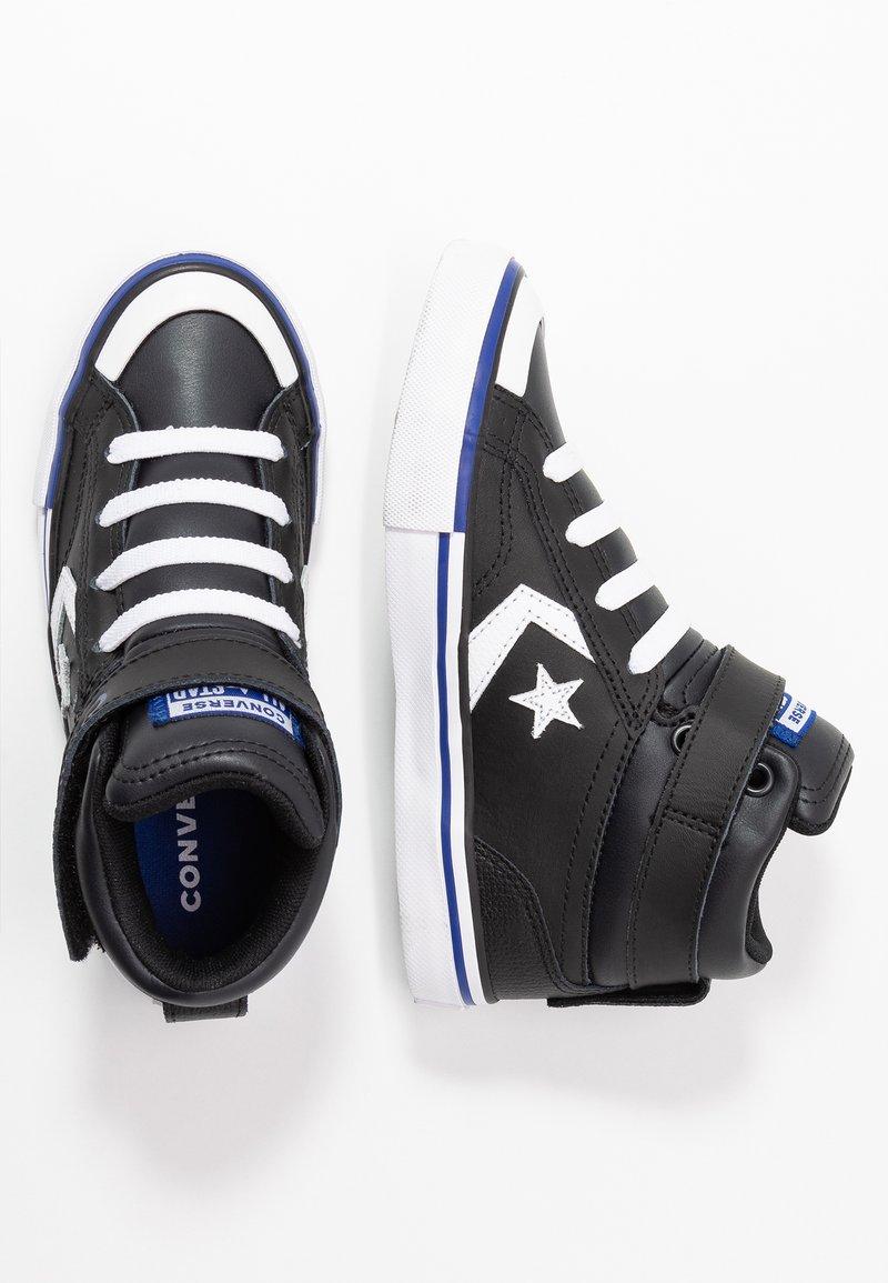 Converse - PRO BLAZE STRAP VARSITY - Baskets montantes - black/rush blue/white