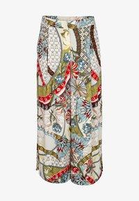 Alba Moda - Trousers - off white grün blau - 5