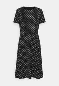 PRINTED TECH DRESS - Day dress - black