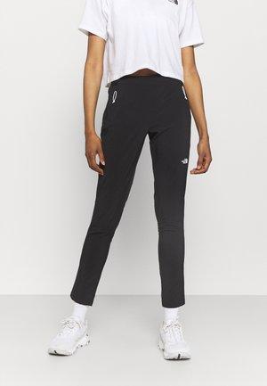GLACIER PANT - Pantalon classique - black