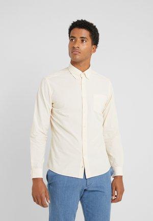 Shirt - yellow/white