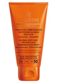 Collistar - GLOBAL ANTI-AGE PROTECTION TANNING FACE CREAM - Sun protection - - - 0