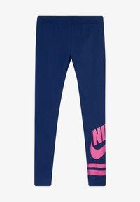 blue void/fire pink