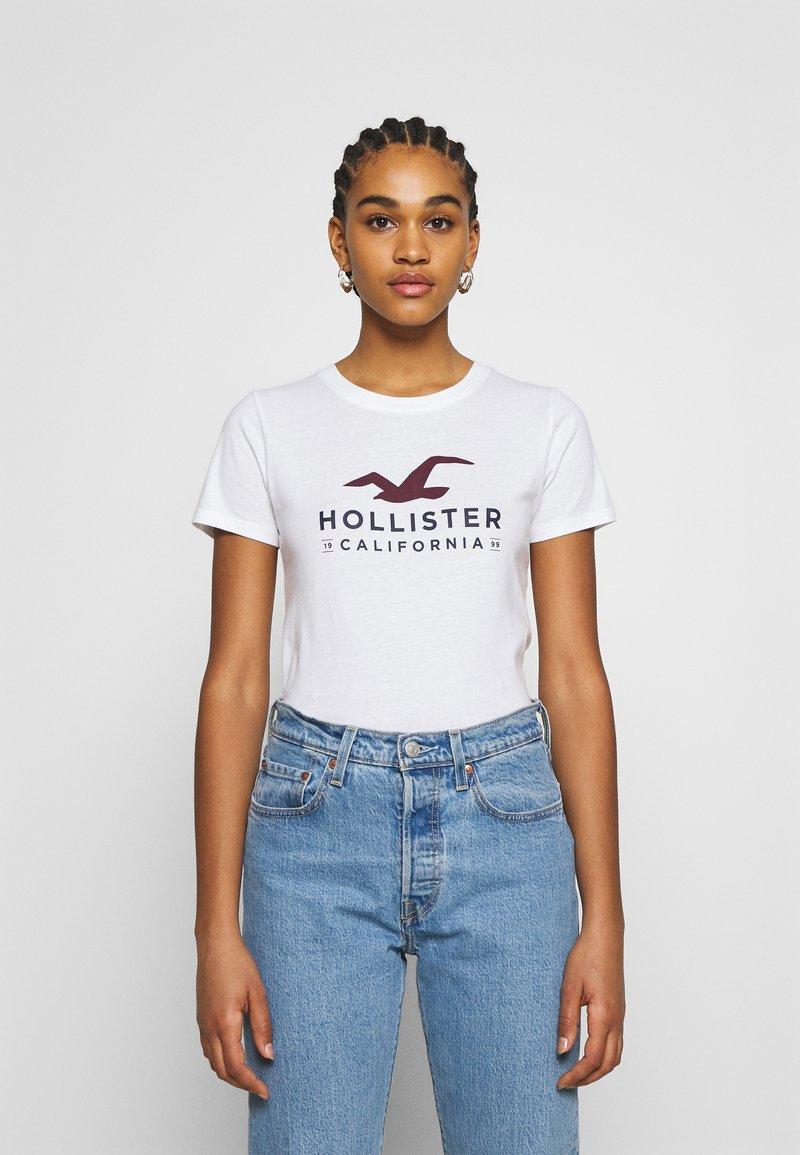 Hollister Co. - Print T-shirt - white