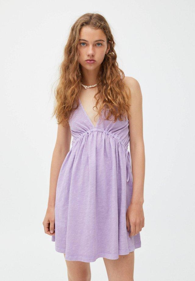 Sukienka letnia - mauve