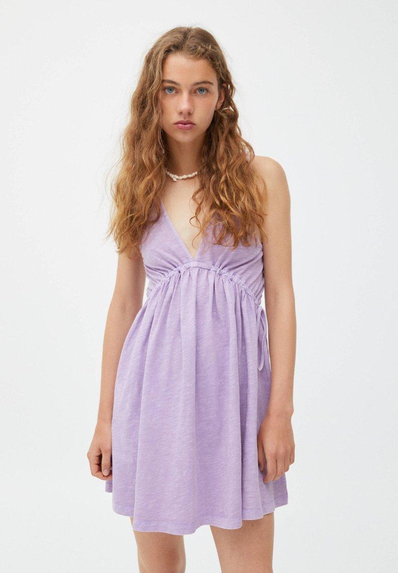 PULL&BEAR - Korte jurk - mauve
