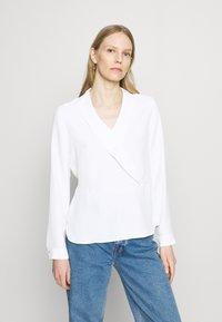comma - Blus - white - 0