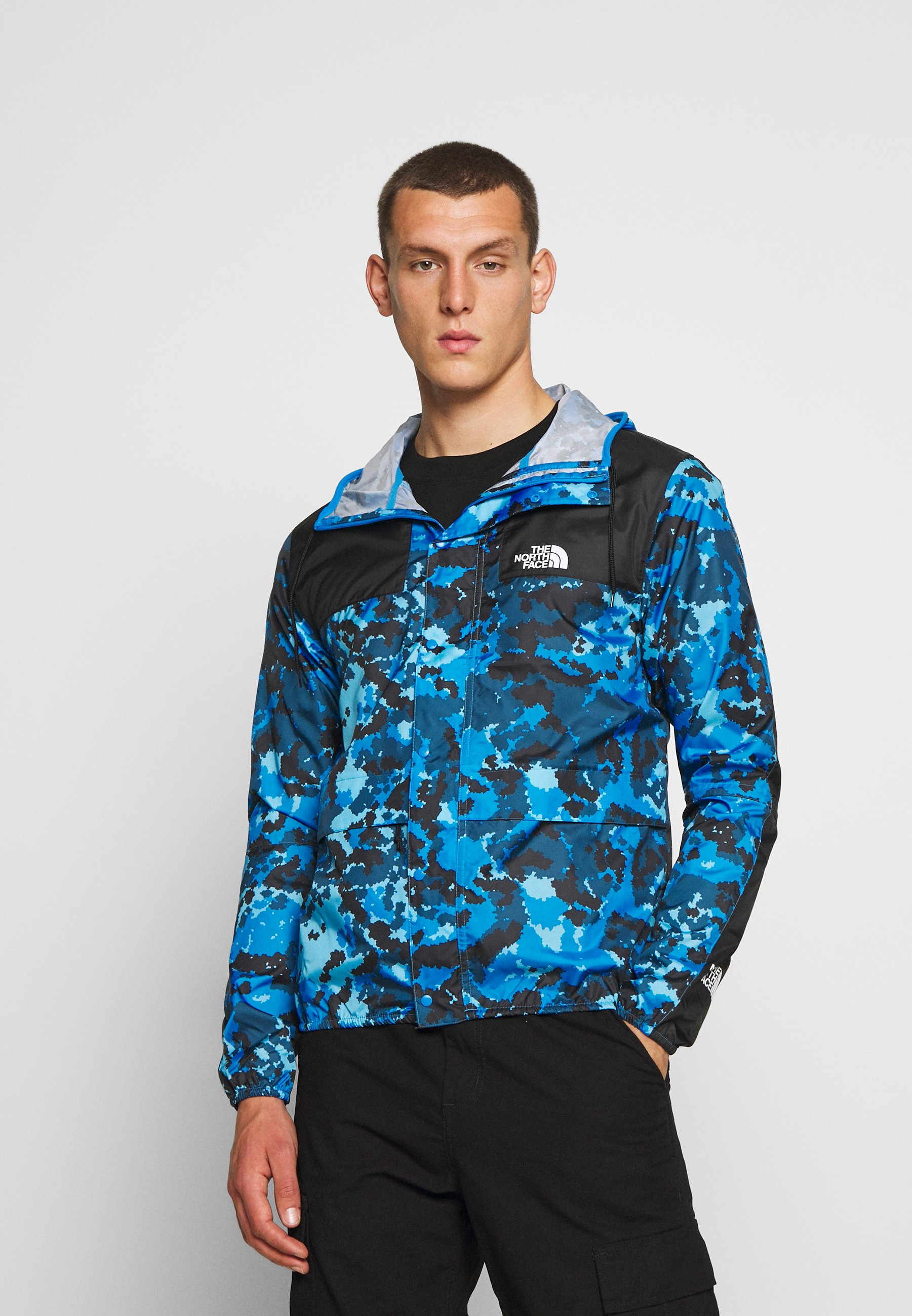 Popular Wholesale The North Face SEASONAL MOUNTAIN JACKET  - Summer jacket - clear lake blue himalayan | men's clothing 2020 ASJ5H
