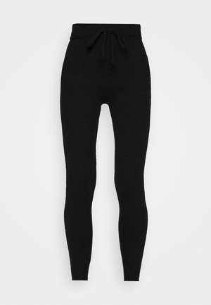 SANDRA TROUSERS - Pantalones deportivos - black