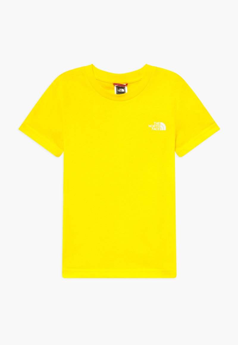 The North Face - SIMPLE DOME TEE - Basic T-shirt - lemon