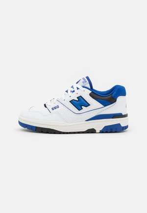 550 UNISEX - Baskets basses - white/royal